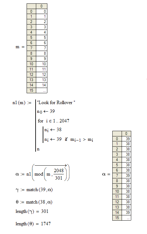 Figure 3: Evenly Spreading Out the Divisions.