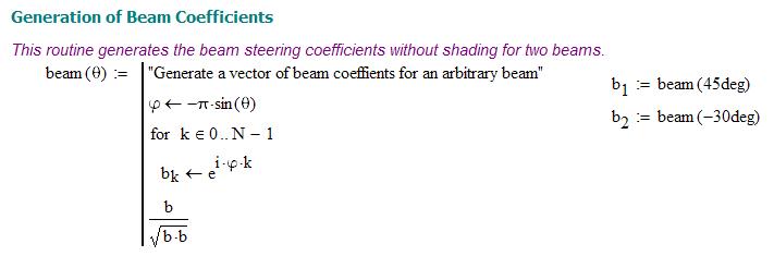 Beamforming Math   Math Encounters Blog