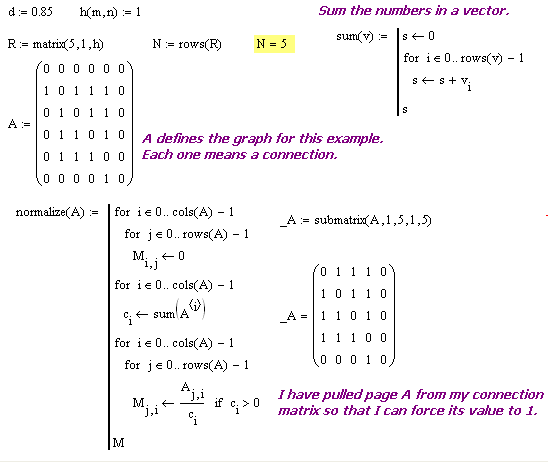 Figure 3: Setup for My Iterative Solution of Equation 2.