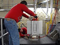 Figure 1: Photograph of MSL's MMRTG.