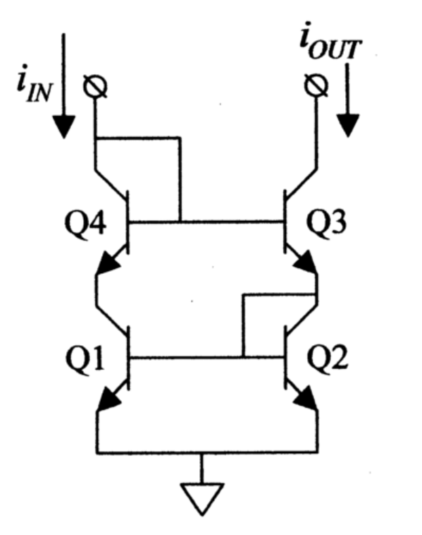 design review of four transistor current source