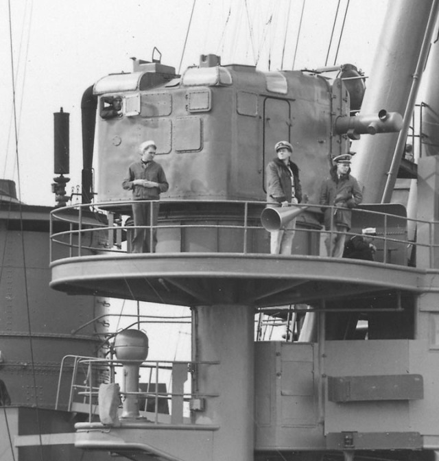 Figure 10: Rangefinder incorporated in Mk19 Fire Control System on USS Pennsylvania (BB 38).