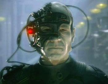 Figure 2: Wikipedia Photo of Locutus of Borg.