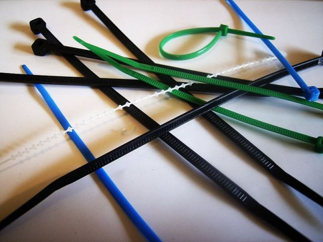 Figure 1: Assortment of Cable Ties.