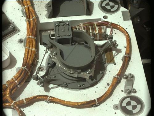 Figure 2: Mars Curiousity Rover Cable Rigging.