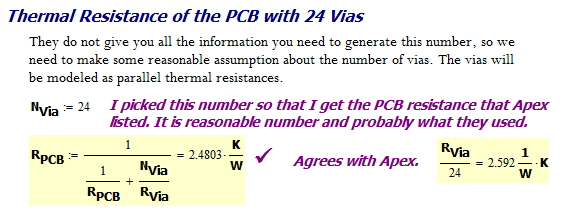 Figure 11: Thermal Resistance of the Overall PCB.