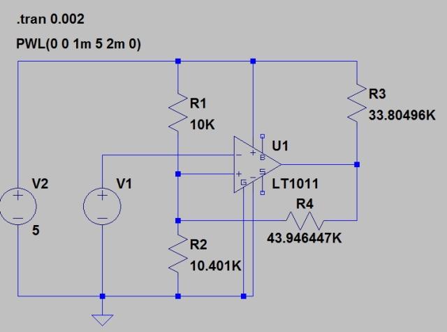 Figure 7: LTSpice Schematic.