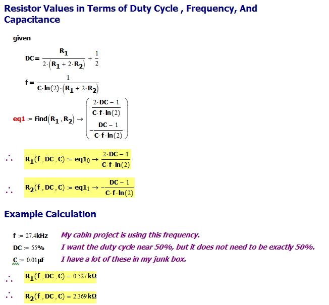 555 Timer Math   Math Encounters Blog