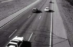 Figure 1: Inductive Car Sensor Under a Roadway.