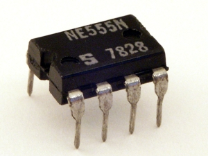 Figure 1: Classic 555 in an 8-Pin DIP.