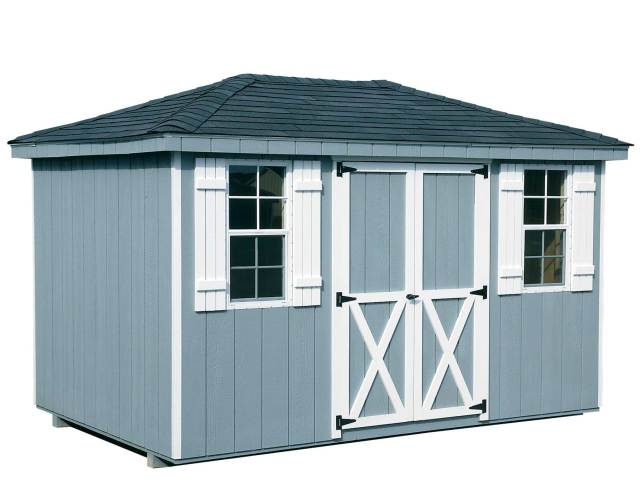 Figure 1: Small Shed with Hip Roof.