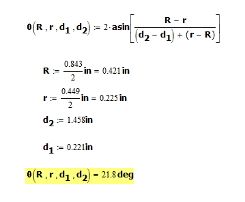 Figure 5: Computations For Example in Figure 4.