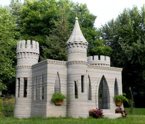Figure 1: Concrete SLA of a Castle.