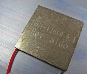 Figure 2: Typical Thermoelectric Generator.