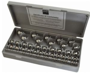 Figure 1: Example of Machinist's Gage Balls.