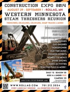 Figure 1: Promo For Western Minnesota Steam Threshers Reunion.