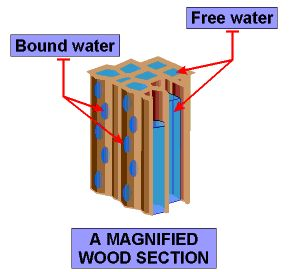 Figure M: Section Drawing of Wood Structure.