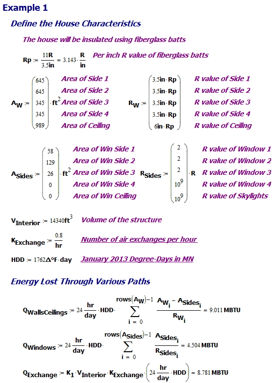 Figure M: Energy Calculation.