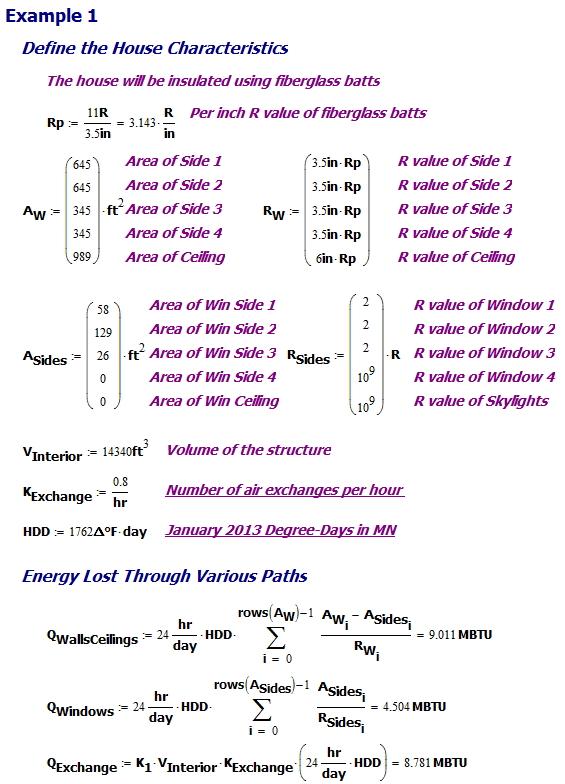 Figure M: Energy Calculation.