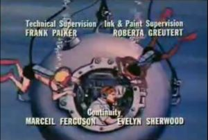 Figure 4: Bathysphere from Jonny Quest's Closing Credits.
