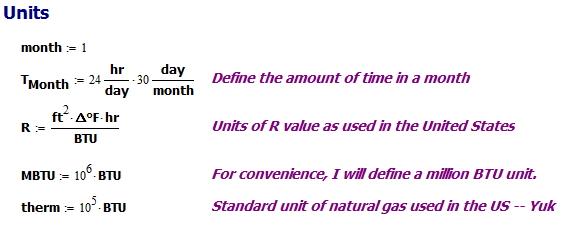 Figure M: Unit Definitions.