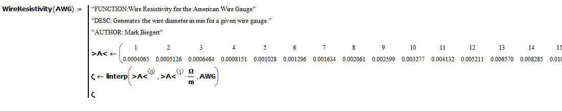 A small low voltage landscape wiring project math encounters blog figure 4 copper resistivity versus awg greentooth Gallery