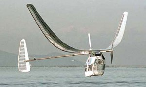 Figure 1: Gossamer Condor Crossing the English Channel.