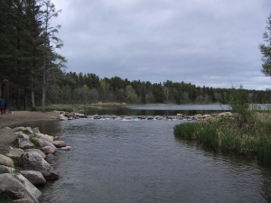 Figure 1: Lake Itasca, Minnesota is the Source of the Mississippi (Wikipedia).