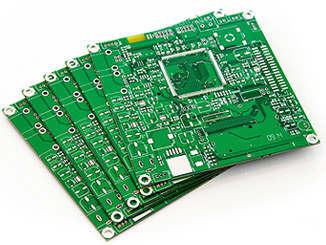 Figure 1: Typical PCB with High-Pin Count Parts.