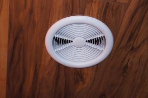Figure 1: Grill of My New Bathroom Fan.
